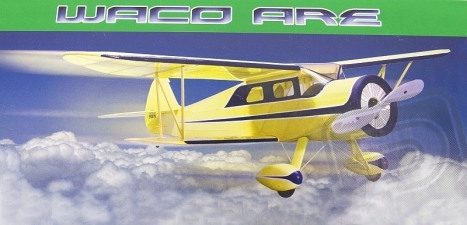 RC lietadlo Waco ARE