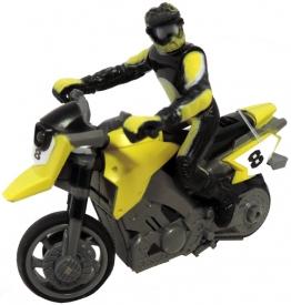 RC mini motorka 1:43 - žlutá