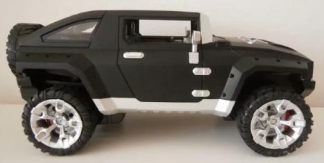 RC špionážne auto DRIVE SPY, čierna