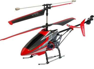 RC vrtuľník MJX T-11, červená