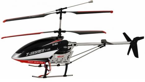 RC vrtuľník MJX T-55, čierna
