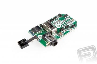 Riadiaca elektronika s gyroskopom