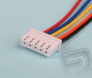 servisní konektor JST-XH ALIGN (4 čl.)