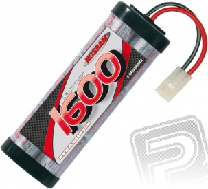Sport pack 1600 mAh 7.2 V NiMH StickPack