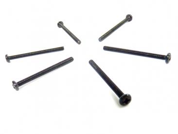 Skrutka s pologuľatou hlavou 3x38 mm (6 ks)