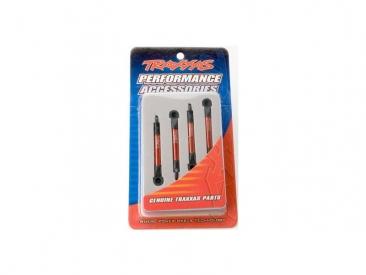 Traxxas - hliníkové táhlo stabilizátoru červené (4)