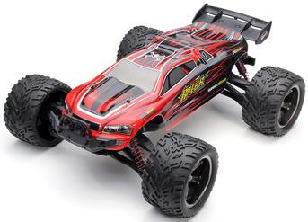 RC auto 9116 Challenger 1:12 - truggy, červená