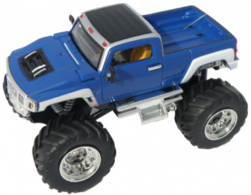 Mini RC Monster Truck, modrá