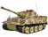 RC tank German Tiger 1:24 - infra strely