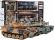 RC súbojové tanky s dymom 2,4 GHz