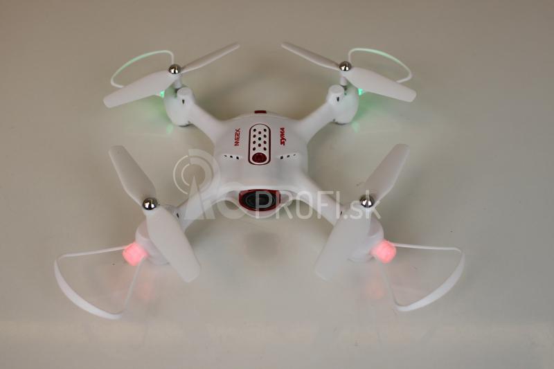 RC dron Syma X23W, biela