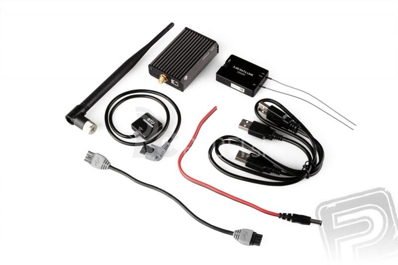 2,4Ghz BT datalink modul  iPad Ground Station s licenciou Waypoint