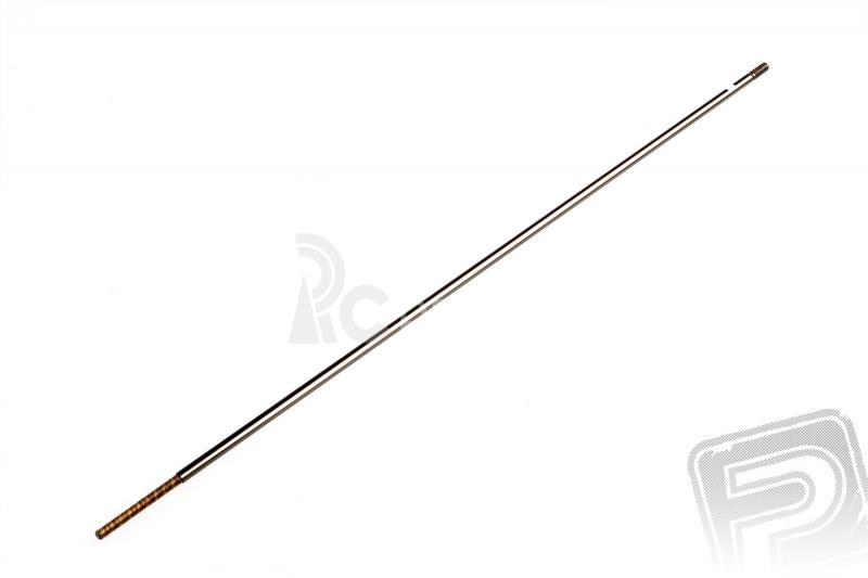 4 mm pevný hriadeľ w/3,18
