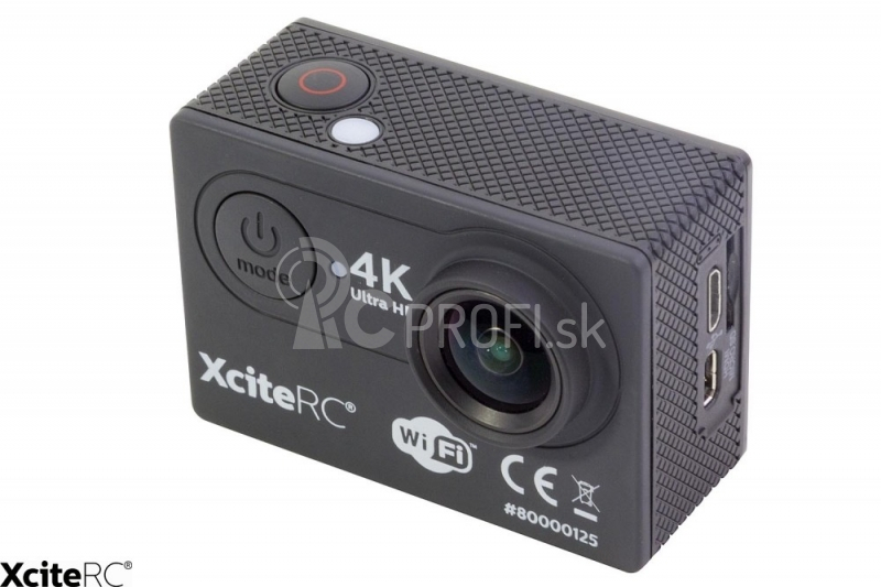 Action-Cam Ultra HD 4K 24MP WiFi