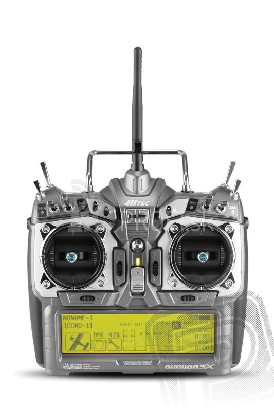 AURORA 9X 9-kanálová Maxima 9 2.4 GHz,TX aku (mode 1)