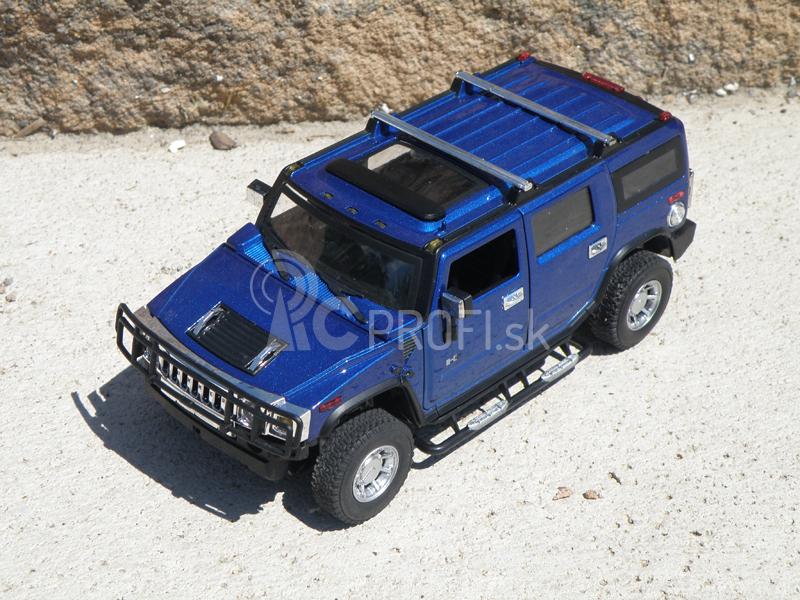RC auto mini kovové Hummer H2 1:24
