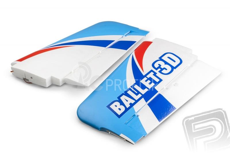 BALLET 3D - Krídla (vrátane 2 serv)