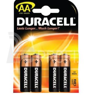 Batérie Duracell Basic AA 4ks