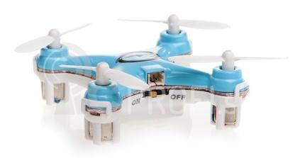 RC dron Quadrocopter Blaxter X40, modrá