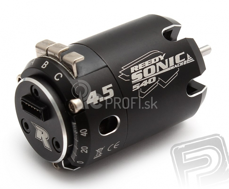 Brushless-Motor 4.5 SONIC 540 ''Mach 2'' Sensor ''R''Serie