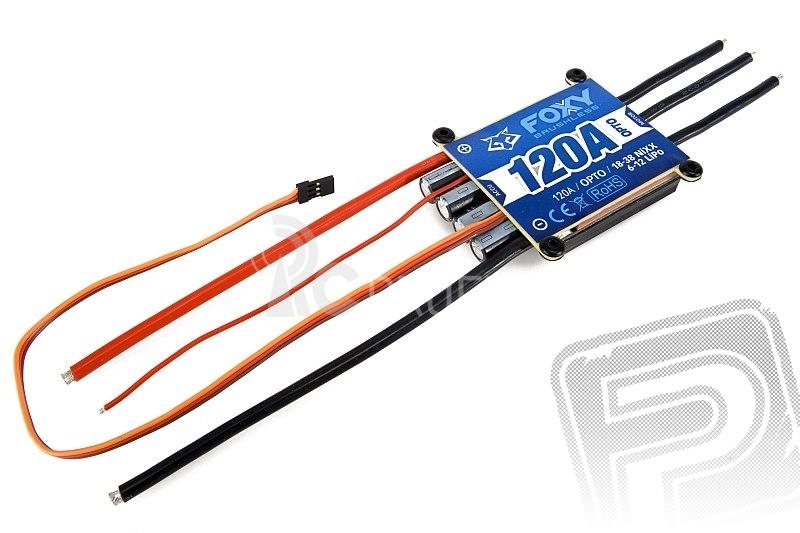 Combo set FOXY G2 C4125-330   FOXY 120A regulátor