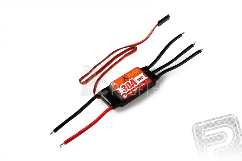 Combo set RAY C3530/14 (5mm hriadeľ)  RAY R-30B 30 A regulátor