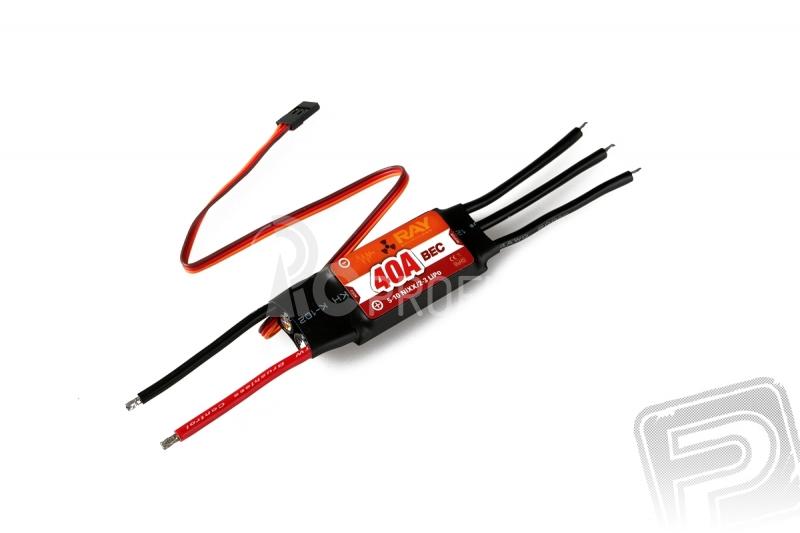 Combo set RAY C3536/05 (5mm hřídel)   RAY R-40B 40A regulátor