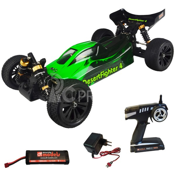 RC auto Desert Fighter 4 Brushed Buggy 1:10