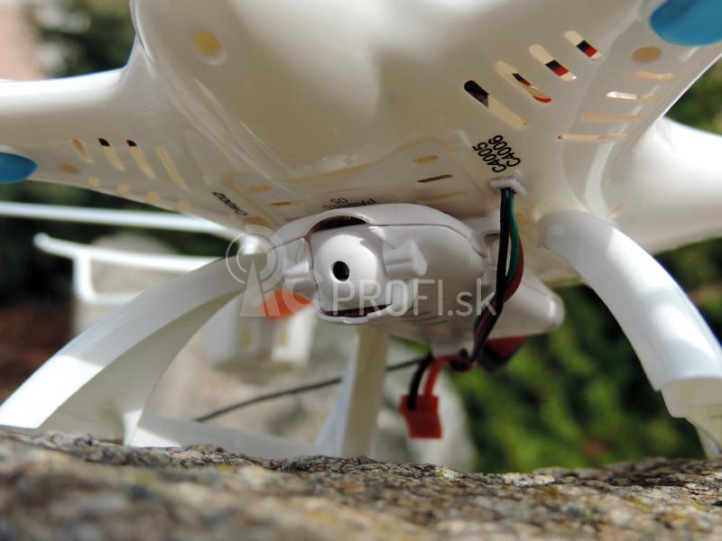 RC kvadrokoptéra MJX X400 + kamera