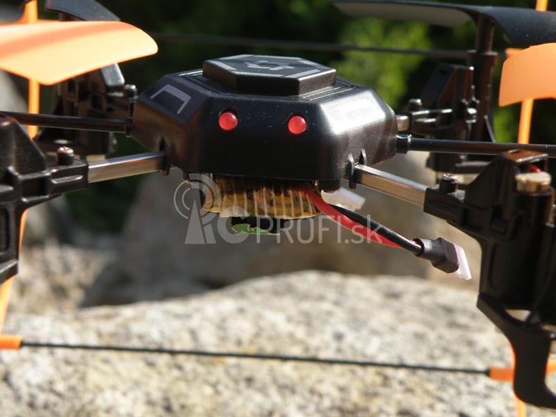 RC dron SkyWalker, oranžová