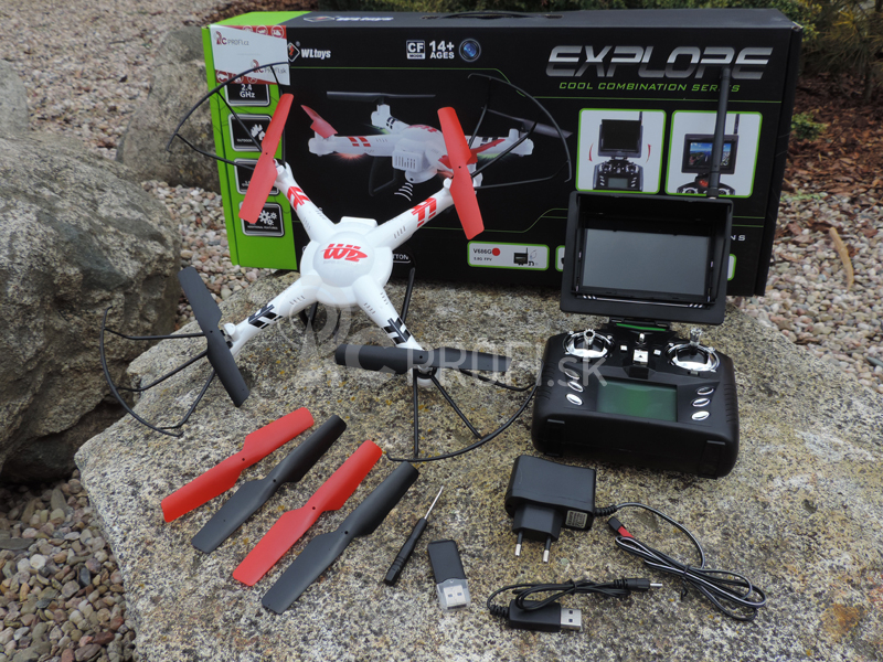 Dron Super Aviator FPV