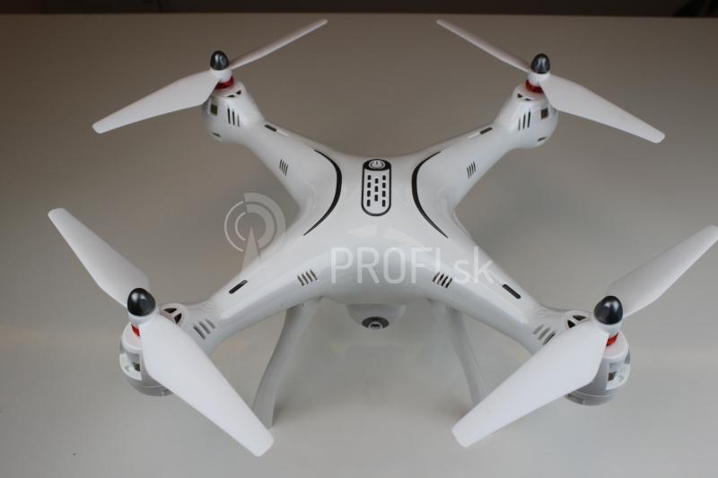 Dron Syma X8PRO, biela + náhradná batéria