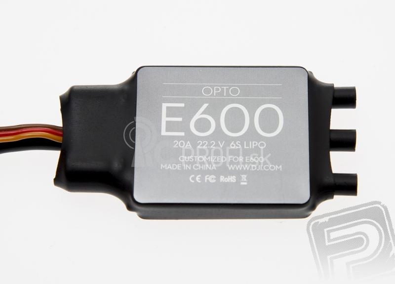 E600 propulsion system - set 4x motor, regulátor, vrtuľa