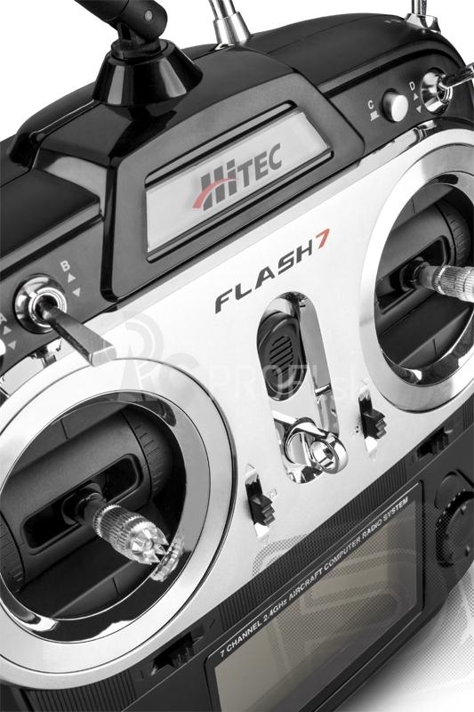 Flash 7 2,4GHz , přijímač OPTIMA 7 (Mode 1/3)