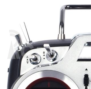 Flash 8 2.4GHz vysílač (Mód 1/3) s Tx aku AKCE 2015