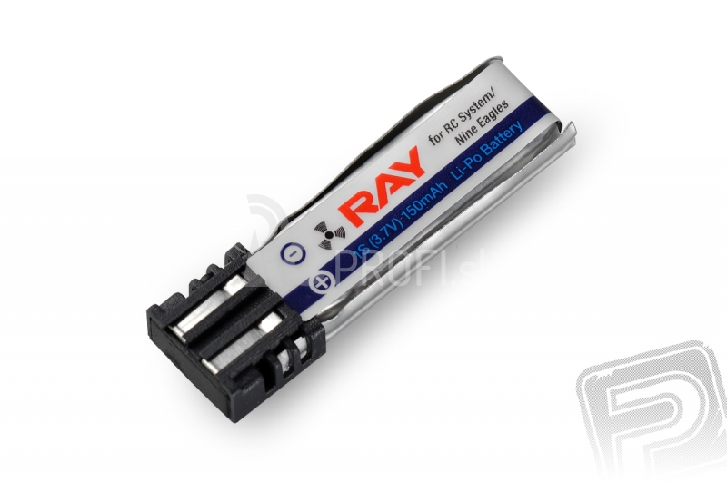 G3 RAY Li-Pol 150 mAh/3,7 V (RC system, Nine Eagles) 0,6 Wh