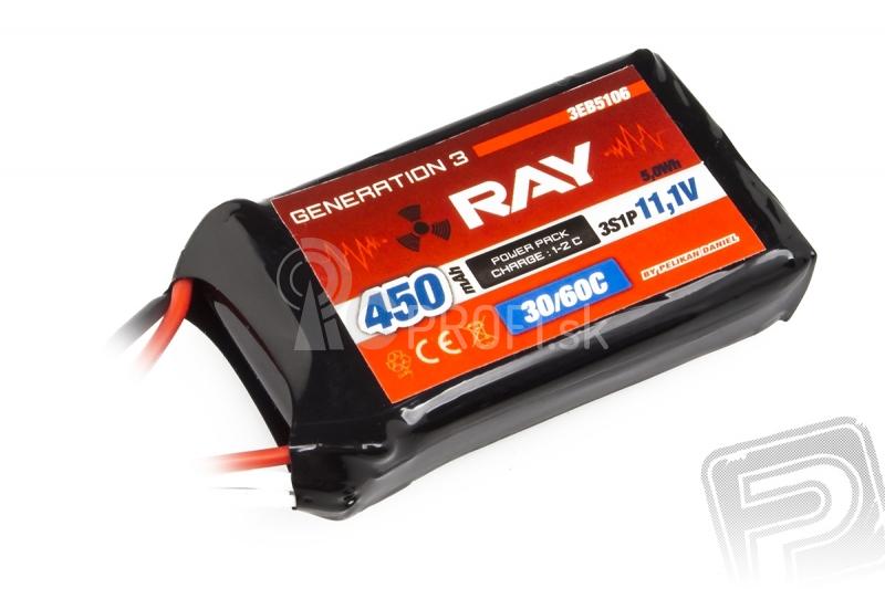 G3 RAY Li-Pol 450mAh/11,1 30/60C Air pack 5,0Wh