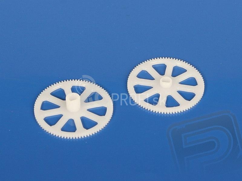 Hlavné ozubené kolesá - V4 COLIBRI, Solo V1