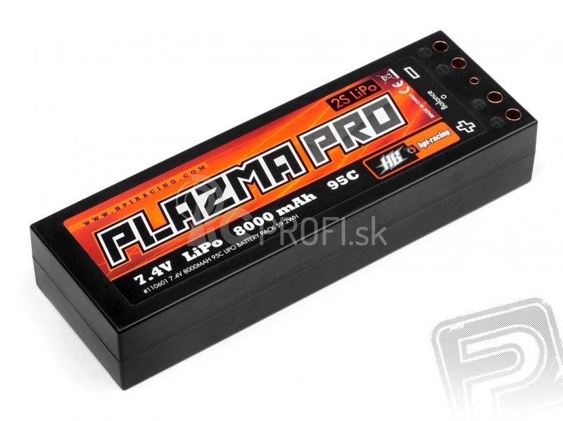 HPI - Plazma PRO 7.4V 8000mAh 95C LIPO 59.2Wh