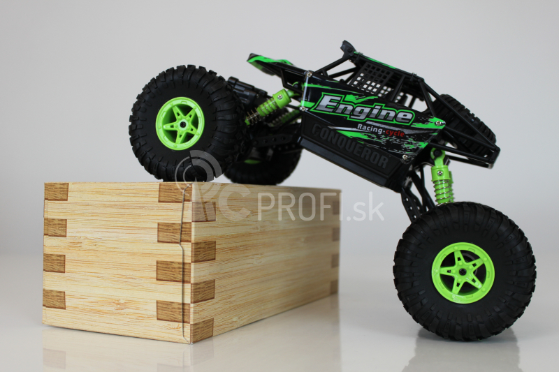 RC crawler Engine 1:18, zelená