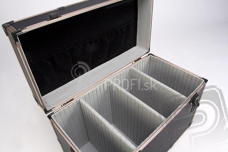 K6 - Hliníkový kufor na náradie a príslušenstvo (450x240x310 mm)