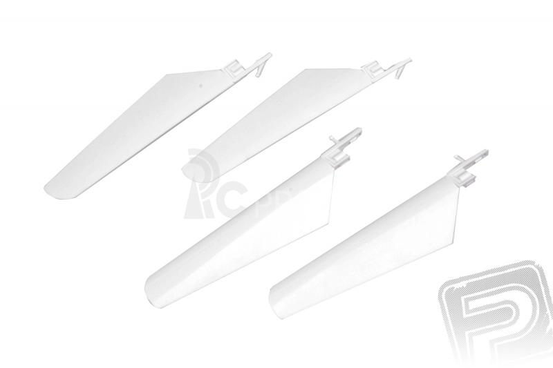 Listy rotora, súprava (biela) - V4 COLIBRI, Solo V1