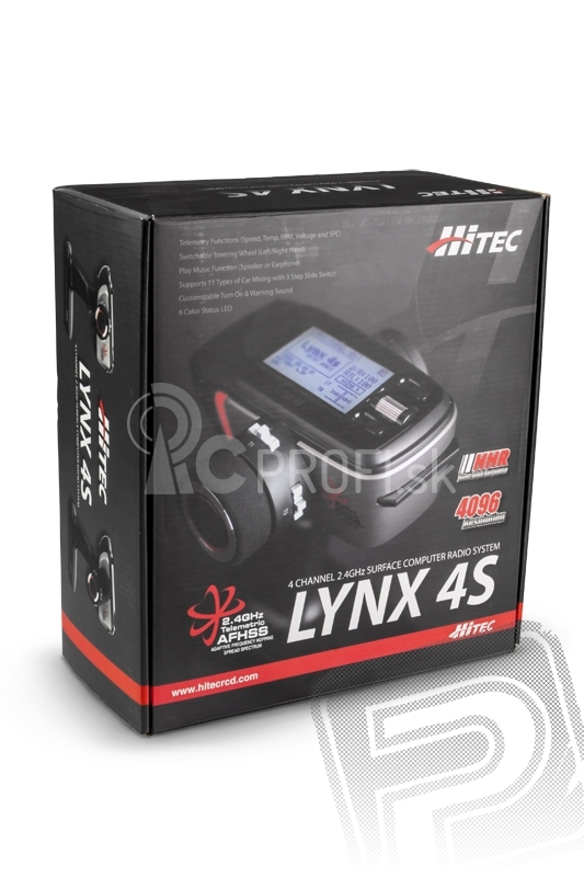 LYNX 4S 2,4 GHz   RX Axion 2