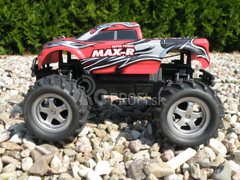 RC OFF-ROAD MAX-R 1:14, červené