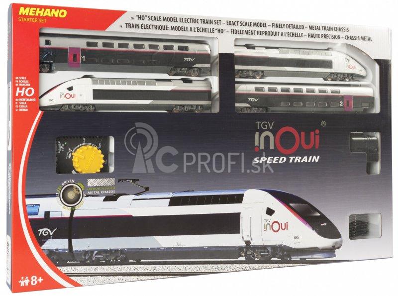 MEHANO Speed train TGV INOUI