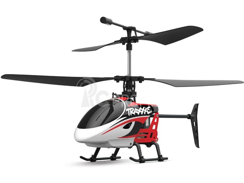 RC vrtuľník Traxxas DR-1, červená