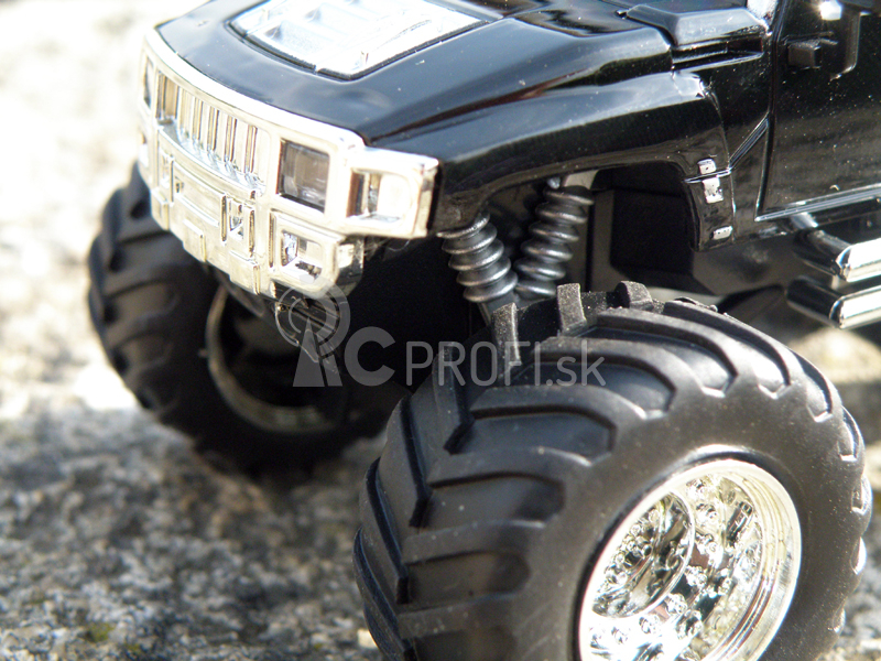 Mini RC Monster Truck, čierna