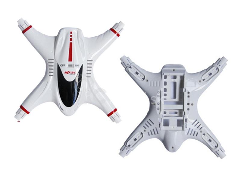 MJX X400-01 kapotáž (horná aj spodná časť)