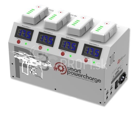 Nabíjecí stanice pro akumulátory Phantom 3 PROMO CENA 2015
