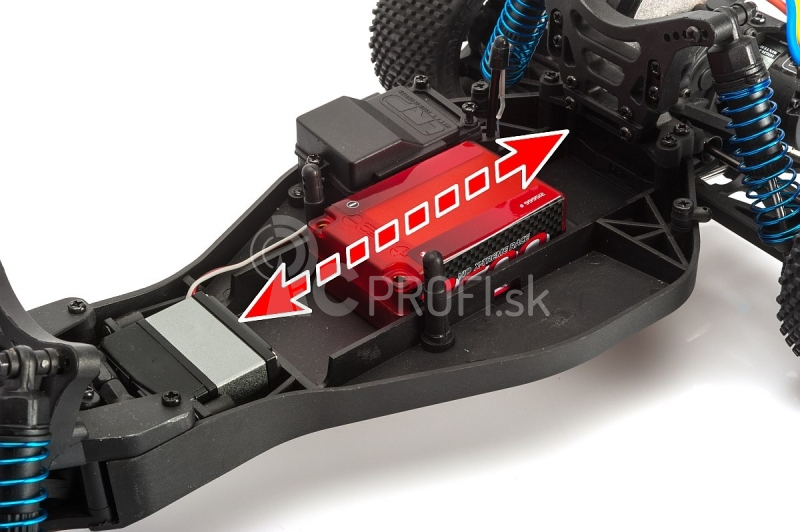 NOSRAM 2600 - Super Shorty - 110C/55C - 7.4V LiPo - 1/10 Competition Car Line Hardcase